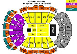 Sprint Center Floor Plan by Seating Charts Sprint Center