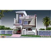 Modern Decorative House  Kerala Home Design And Floor Plans