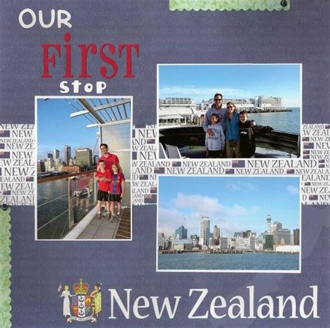 Scrapbook Travel Album Discover New Zealand by 109 Best New Zealand Scrapbook Pages Austrslia Images On