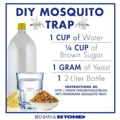 mosquito trap diy yeast how to make a diy mosquito trap diy 2