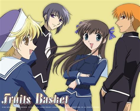 mini reviews fruits basket ghost hunt ouran high school