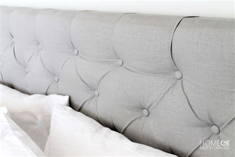 how to diamond tuft a headboard diamond tufted headboard