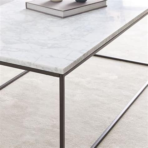 streamline coffee table elm streamline coffee table marble elm