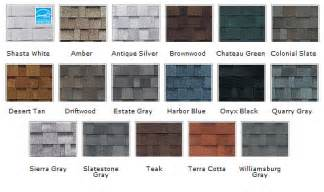 owens corning shingle colors american roofing and remodeling owens corning duration tru