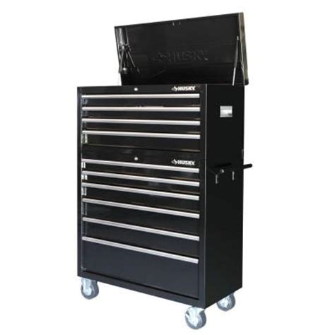 the tool review husky 40 inch tool chest and cabinet
