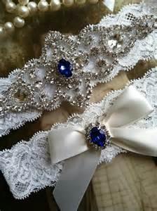 blue garter wedding garter garters bridal garter blue pearl
