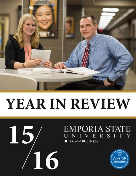 Emporia State Mba by School Of Business Year In Review By Emporia State
