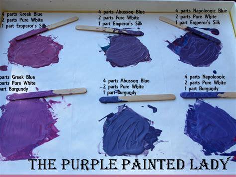 Custom Purple Colors Using Chalk Paint 174 The Purple