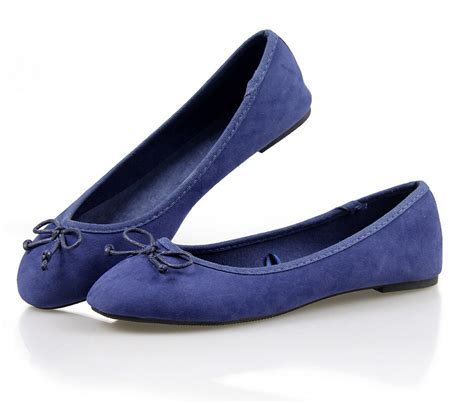 with flat shoes navy blue suede bow ballet flat with flat shoes