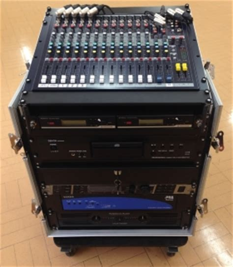 Cabinet Rack Sound System professional sound systems