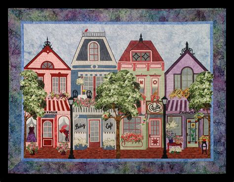 house pattern images painted ladies sweet season quilts