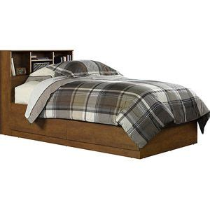 storage bed no headboard mainstays twin storage bed hazelwood twin drawers and beds