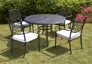 Garden Table Set Royalcraft Versailles 4 Seater Dining Set