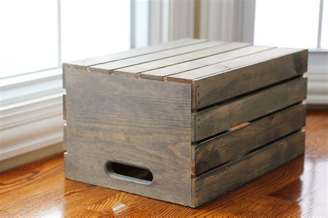 diy crate diy wooden pallet crate furniture diy craft projects