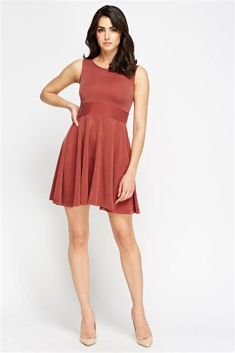 Casual Swing Dress Just 163 5