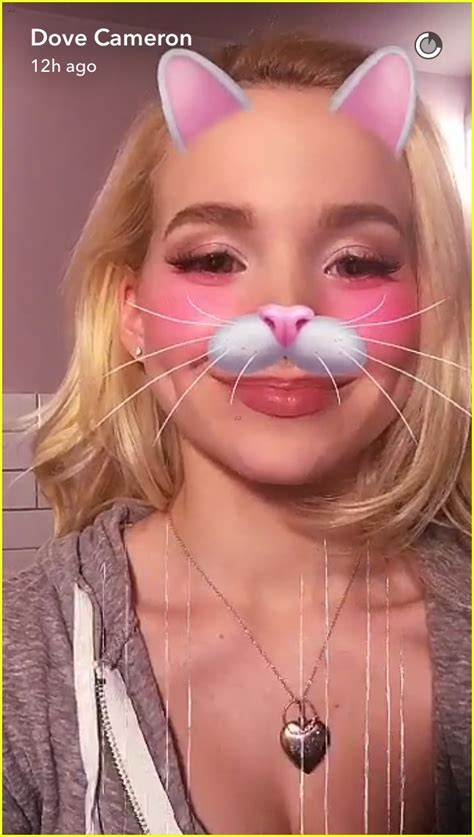 Camerons Got My Ring by Dove Cameron Shows Engagement Ring On Snapchat