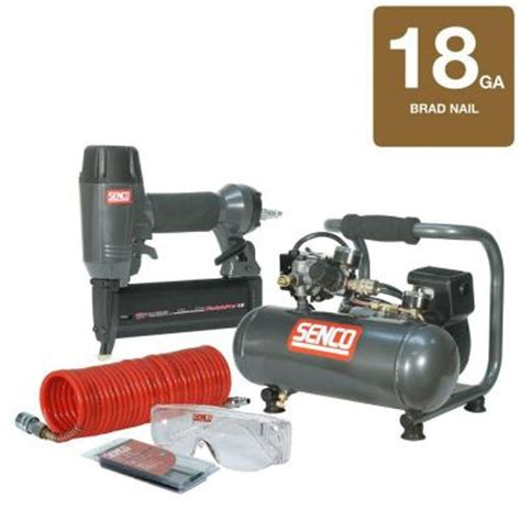 senco finishpro kit 18 brad nailer and pc1010 compressor