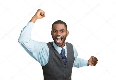 Excited Stock Image