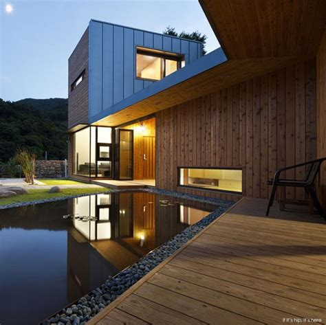modern south korean home design is based on feng shui