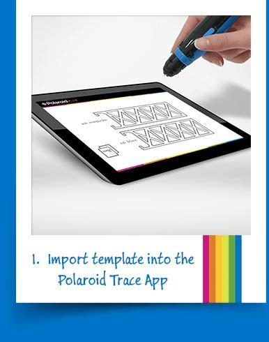 3d Pen Polaroid3d Polaroid Template App