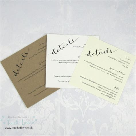 Wedding Invitation Information Card by Information Cards For Wedding Invitations Wedding