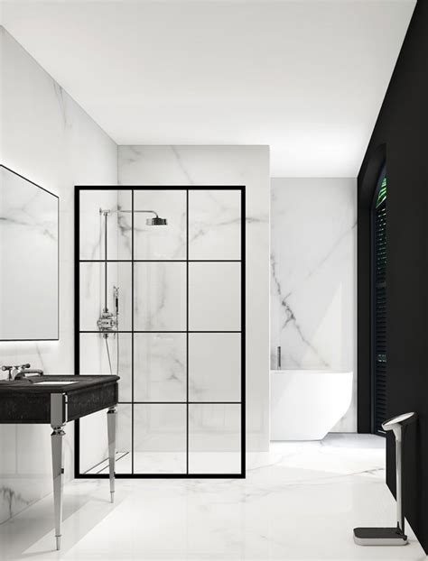 create a splash with a luxurious walk in shower property