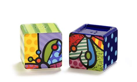 ceramic bearfoots salt and pepper shakers stacking britto stacking salt pepper shakers 2 set butterfly