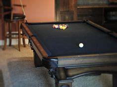 How To Change The Felt On A Pool Table Modern White Pool Table With Grey Felt Change To Black Felt Pool Table Room Pinterest