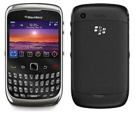 Handphone Blackberry Curve Second Handphone Blackberry Curve 9300 3g