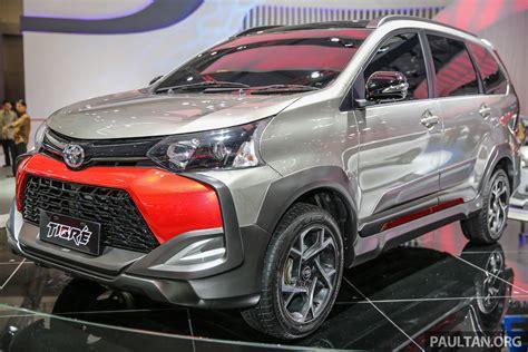 Bantal Mobil Toyota Avanza Veloz 21 giias 2016 toyota avanza veloz tigre suv inspired
