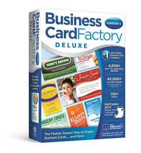 business card reseller business card factory deluxe 4 0