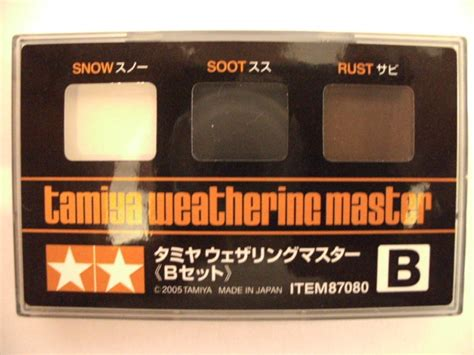 Tamiya Weathering Master A weathering from production da c
