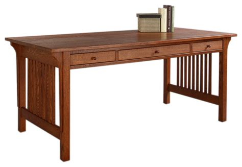 Craftsman Desk by Mission Table Desk Craftsman Desks And Hutches Dc