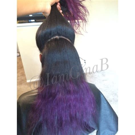 Half Sew In Weave Hairstyles by Half Vixen Sew In Two Way Sew In Installed And Colored By