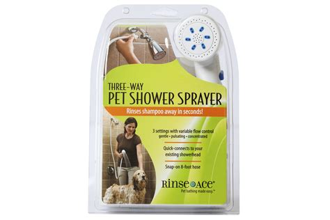 Rinse Ace Pet Shower by Washing A Shower How To Wash A 3 Way Pet Shower Sprayer Rinse Ace