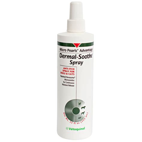 anti itch for dogs dermal soothe anti itch spray for dogs cats 12 oz
