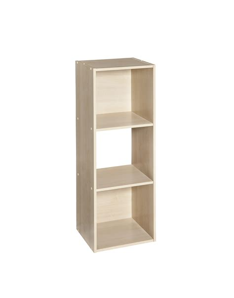 Closetmaid 12 Shelf Closetmaid Cubeicals 3 Cube Organizer Birch