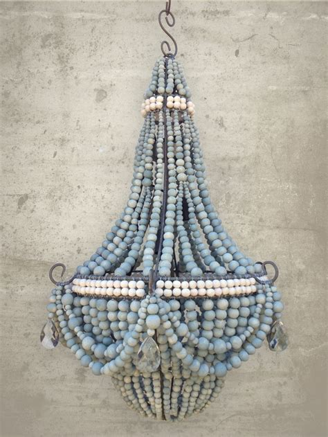 Handmade Chandeliers Ideas 25 Best Ideas About Beaded Chandelier On Bead Chandelier Wood Bead Chandelier And