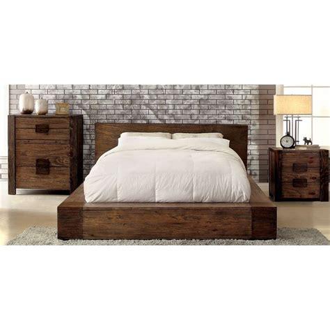 furniture of america ruggend 3 piece storage california furniture of america elbert 3 piece panel california king