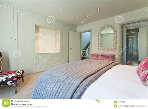 Modernes Schickes Schlafzimmer modernes schickes schlafzimmer stockfoto bild