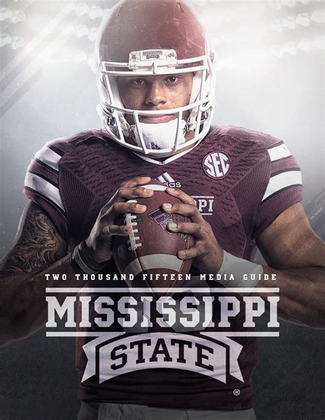 Mississippi State Records 2015 Mississippi State Football Media Guide By Mississippi State Athletics