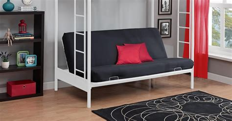 bunk beds with sofa underneath total fab metal wood loft beds with sofa underneath