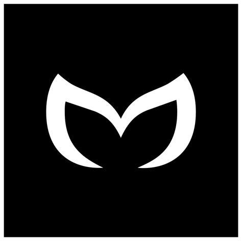 mazda m logo mazda evil m logo custom car decal