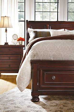 porter king sleigh bed porter king sleigh bed ashley furniture homestore