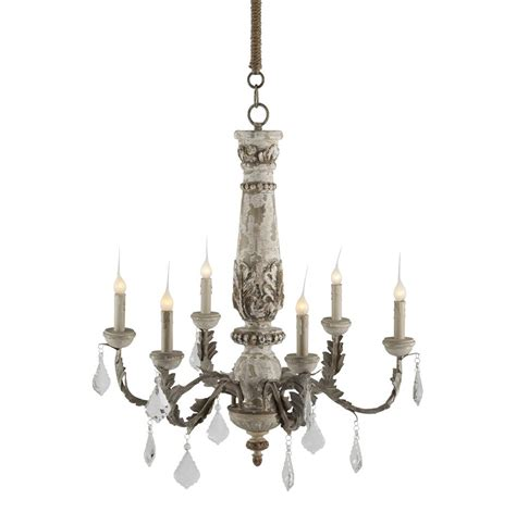 Country Chandeliers Chateau Bealieu Leaf Country Grey Chandelier Kathy Kuo Home
