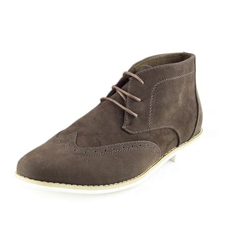 mens lace up desert boots lace up boots mens smart formal