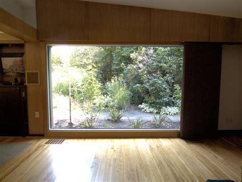 living room big window large window jpg midcentury living room by prindle
