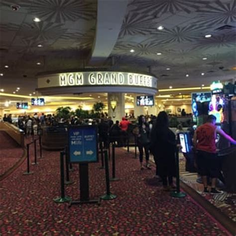 Mgm Grand Buffet Las Vegas Nv United States The Entrance Mgm Buffet Pass