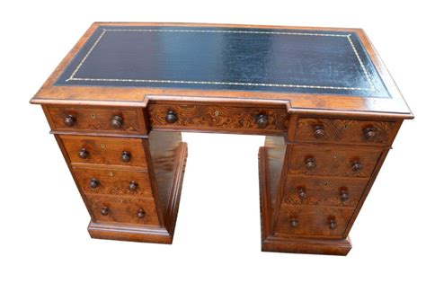 Pitch Desk by Pitch Pine Pedestal Desk 305867