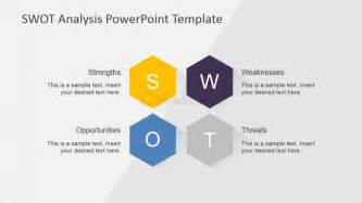 editable swot analysis matrix slidemodel
